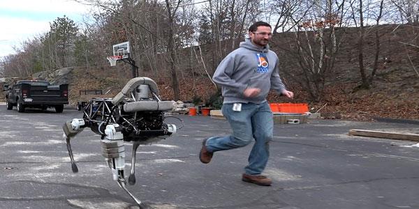 Introducing Spot- A Boston Dynamics Creation